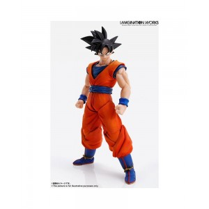 Bandai Imagination Work Dragonball Z DBZ Goku Action Figure