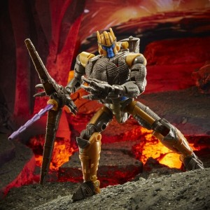 Hasbro Transformers Kingdom 'War For Cybertron Trilogy' Voyager Class Dinobot