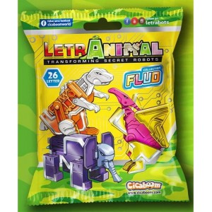 Cicaboom Transformers Secret Robot Letranimal Fluo Collection