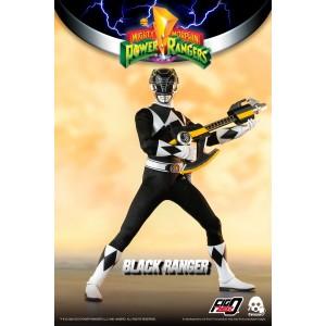 Threezero Mighty Morphin Power Rangers — 1/6 Black Ranger