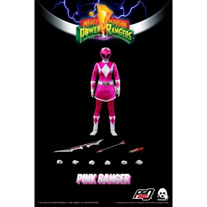 Threezero Mighty Morphin Power Rangers — 1/6 Pink Ranger