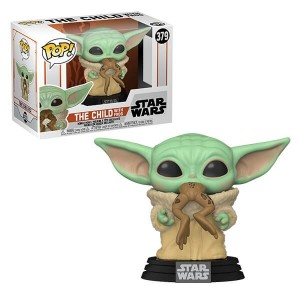 Funko POP Star Wars The Mandalorian 379 The Child With Frog