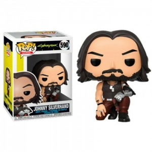 Funko POP Games Cyberpunk 2077 590 Johnny Silverhand(crouch)