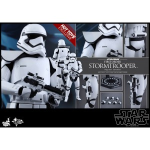 HOT TOYS MOVIE MASTERPIECE MMS316 STAR WARS : TFA – FO STORMTROOPER SQUAD LEADER