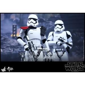 HOT TOYS MOVIE MASTERPIECE MMS335 STAR WARS : TFA – FO STORMTROOPER SET