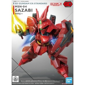 Bandai Gunpla Super Deformed SD EX-Standard 017 MSN-04 Sazabi