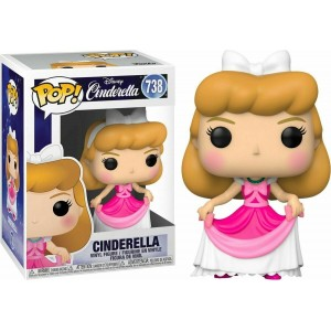 Funko POP Disney Cincerella 738 Cinderella in Pink Dress