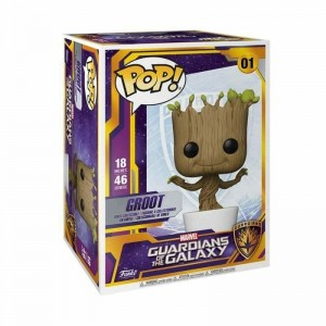 Funko POP Marvel Groot 01 Super Size POP 18' 46 cm