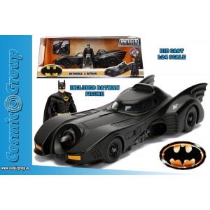 Jada Model Car BATMAN 1989 The Movie Batmobile 1:24