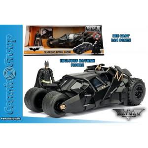 Jada Model Car BATMAN The Dark Knight Trilogy Batmobile 1:24