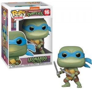 Funko POP Retro Toys Teenage Mutant Ninja Turtles 16 Leonardo