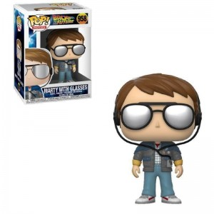 Funko POP Movie Back To The Future 958 Marty With Glasses