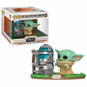 Funko POP Star Wars The Mandalorian 407 The Child With Egg Canister