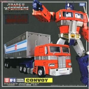 Takaratomy Transformers Masterpiece MP-10 Convoy Ver.2.0 + Display Stand