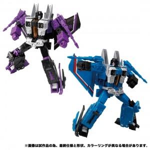 Takaratomy Transformers Earth Rise ER-16EX Skywarp & Thundercraker