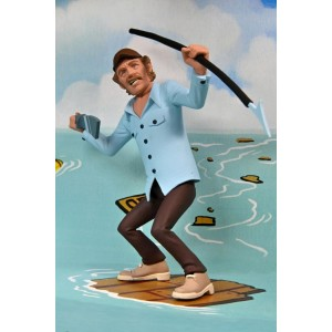 NECA JAWS TOONY TERRORS JAWS & QUINT 2-PACK