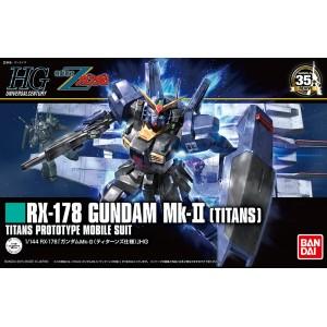 Bandai Gunpla High Grade HGUC 1/144 Gundam RX-178 Titans 'Revive'