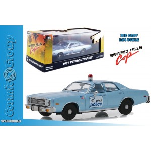 Greenlight Collectibles Model Car Beverly Hills Cop 1977 Playmouth 1:24