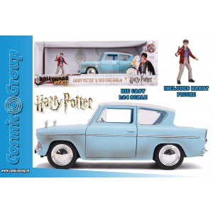 Jada Model Car Harry Potter 1959 Ford Anglia 1:24