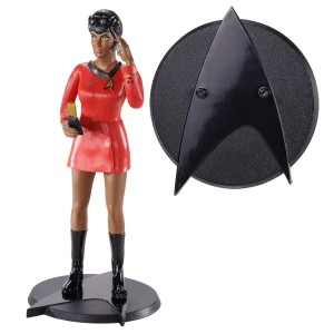 Noble Collection STAR TREK Uhura BENDYFIG