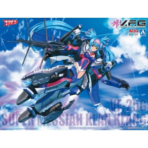 Aoshima Plamo VFG Macross Frontier VF-25G Super Messiah Klan Klang