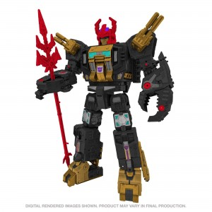 Hasbro Transformers Generation Select Black Zarak Titan Class 'Limited Edition'