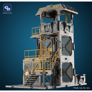 Fresh Retro SIB (Scene In Box) Diorama Building Set: SIB02 GUARD TOWER DIORAMA BUILDING SET