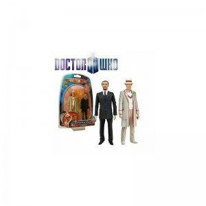 Underground Toys Doctor Who: The Fifth Doctor & The Master 2-Pack SDCC