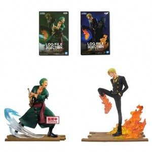 Banpresto One Piece Log File Selecion -Fight- Vol.2 Sanji