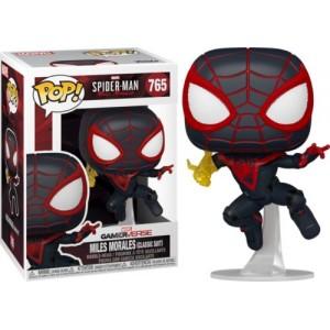 Funko POP Marvel Gameverse Spider-Man 765 Miles Morales(Classic Suit)