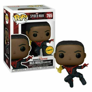 Funko POP Marvel Gameverse Spider-Man 765 Miles Morales(Classic Suit) 'Chase'