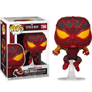 Funko POP Marvel Gameverse Spider-Man 766 Miles Morales(S.T.R.I.K.E. Suit)