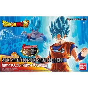 Bandai Plamo Figure Rise Dragonball Super Goku Super Saiyan God