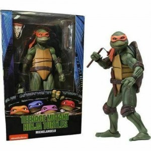 NECA Nickelodeon Teenage Mutant Ninja Turtles TMNT Michelangelo
