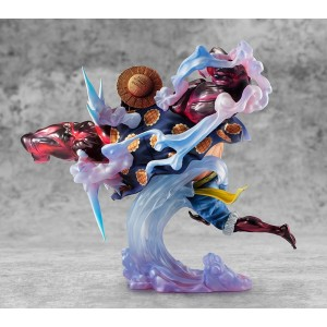 Megahouse One Piece Luffy Gear 4TH Boundman Ver. 2 POP Statue