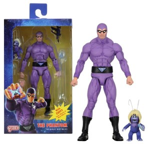NECA Defenders Of The Earths 01 The Phantom With Zuffy