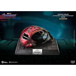BEAST KINGDOM Avengers Endgame Iron Man Mark50 Damaged Helmet Master Craft