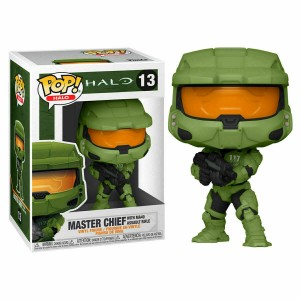 Funko POP Halo 13 Master Chief With MA40 Assault Rifle