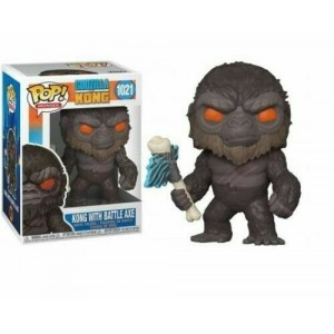 Funko POP Movies Godzilla VS Kong 1021 Kong With Battle Axe
