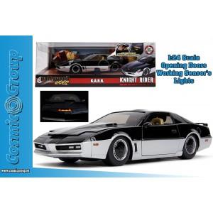 Jada Model Car Knight Rider K.A.R.R. PONTIAC FIREBIRD 1:24