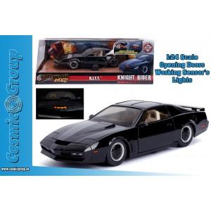 Jada Model Car Knight Rider K.I.T.T. PONTIAC FIREBIRD 1:24