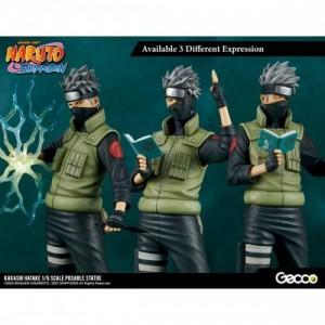 Gecco 1/6 Naruto Shippuden: Kakashi Hatake PVC Figure(Usato Come Nuovo)