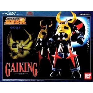 Bandai Soul Of Chogokin GX-27 Gaiking(Aperto Per Controllo)