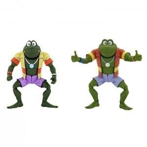 NECA Teenage Mutant Ninja Turtles TMNT Nickelodeon Napoleon & Attila 2-Pack