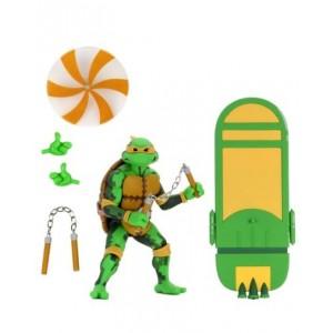 NECA TMNT 'Turtles In Time' Michelangelo
