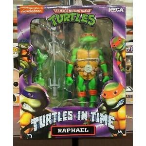 NECA TMNT 'Turtles In Time' Raphael Raffaello