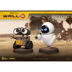Beast Kingdom MINI EGG ATTACK WALL-E & EVE 2PK