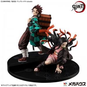 Megahouse GEM DEMON SLAYER BROTHER & SISTER: Kamado Tanjiro & Kamado Nezuko Set