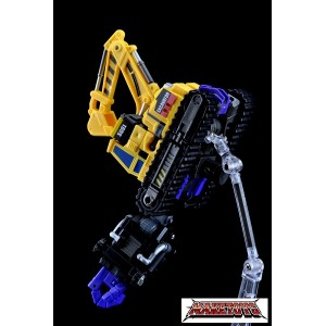 Maketoys MTCombainer Series Giant Team Vol. 1 Bulldozer & Excavator 2-Pack
