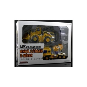 Maketoys MTCombainer Series Giant Team Vol. 3 Wheel Loader & Mixer 2-Pack